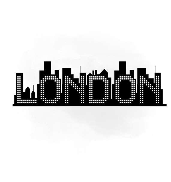 570x609 LONDON Skyline New York SVG Clipart International City Digital
