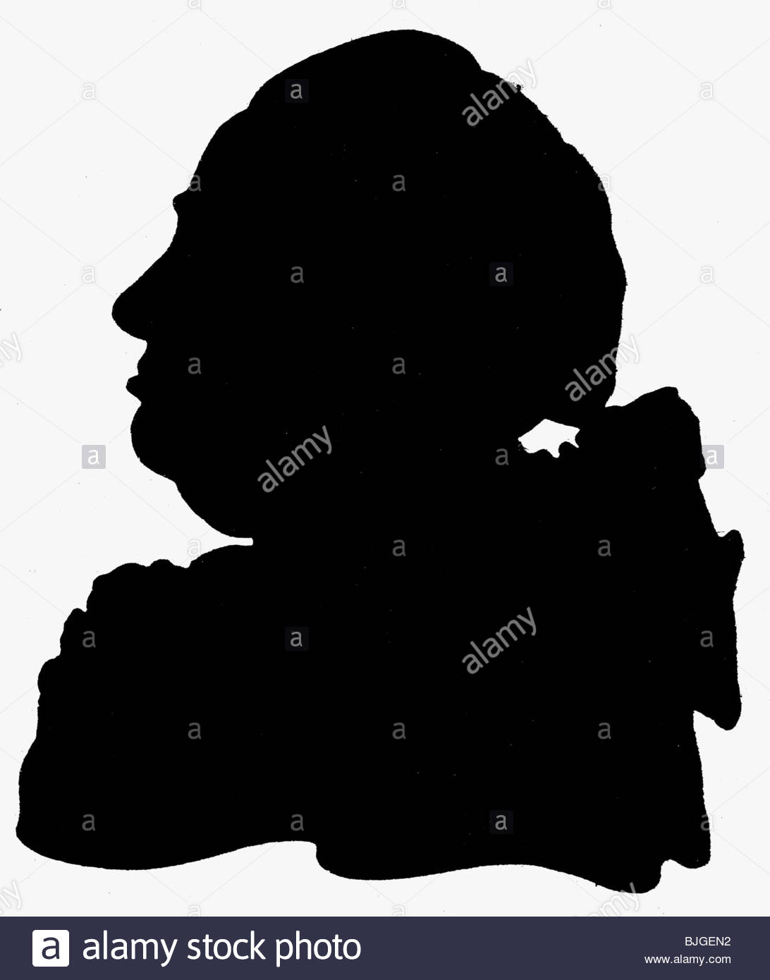 Victorian Portrait Silhouette