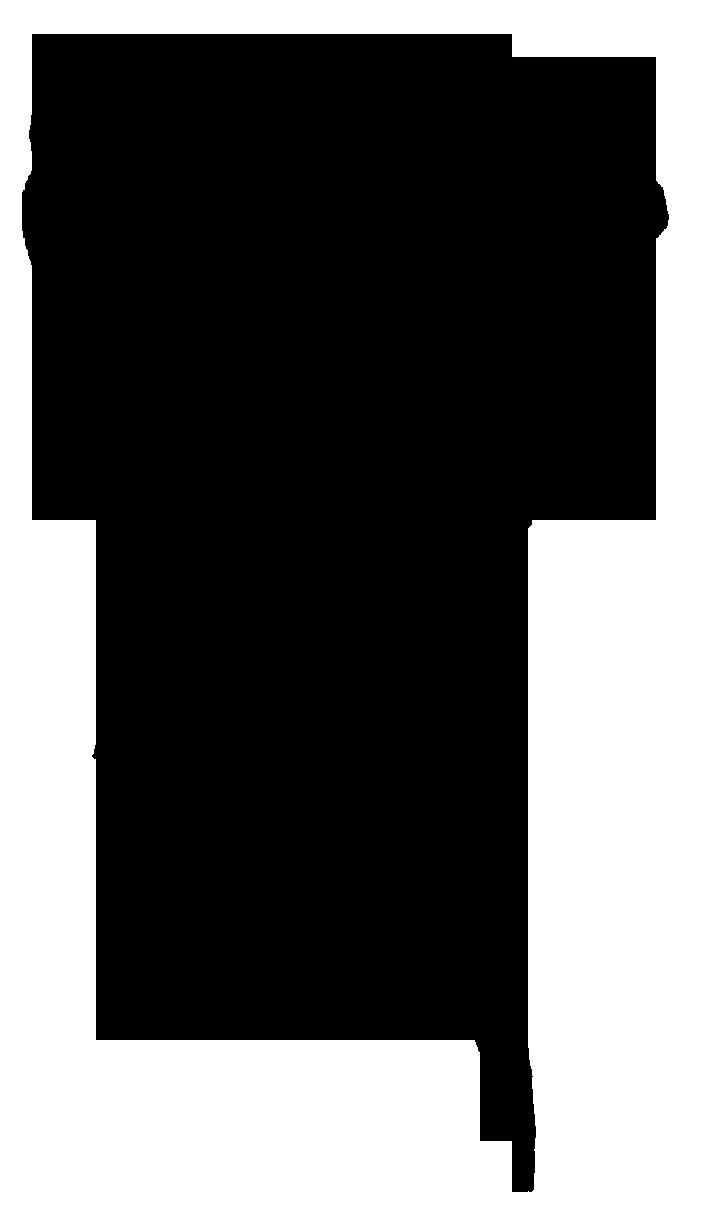 705x1226 Victorian Silhouette Clipart