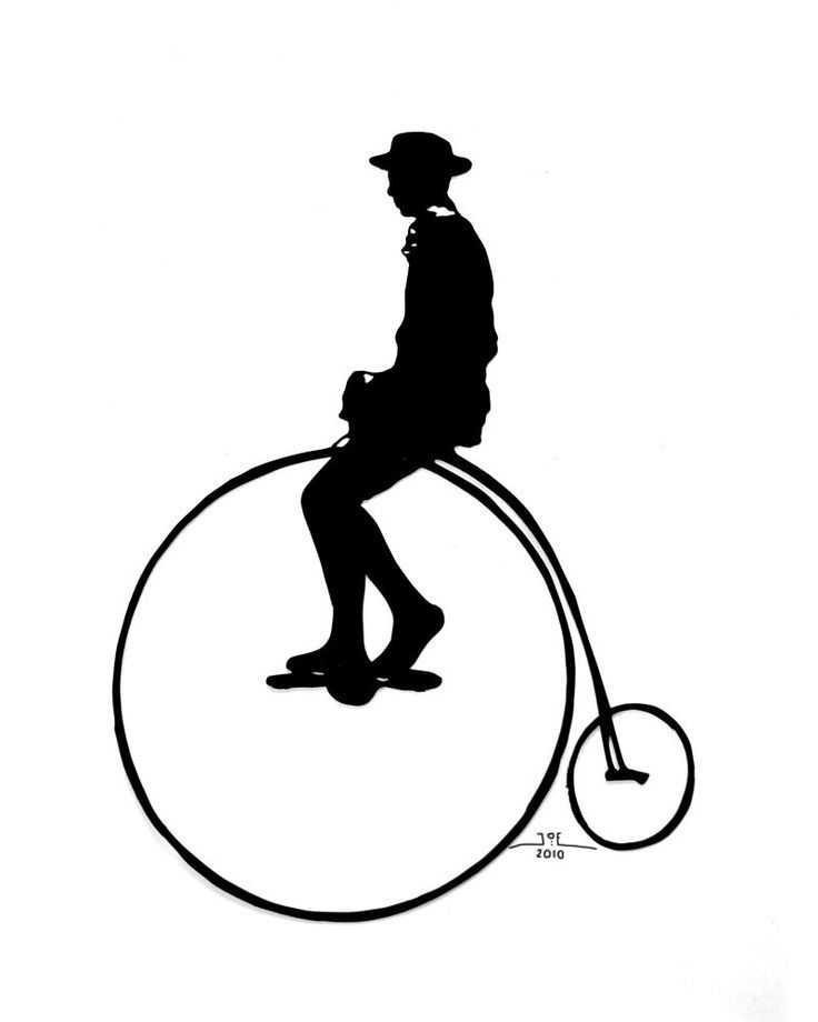 736x920 Victorian Silhouettes Penny Farthing Bicycle Victorian Style