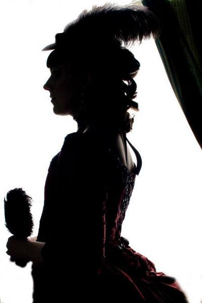 400x600 Victorian Silhouette By Fairyfrog
