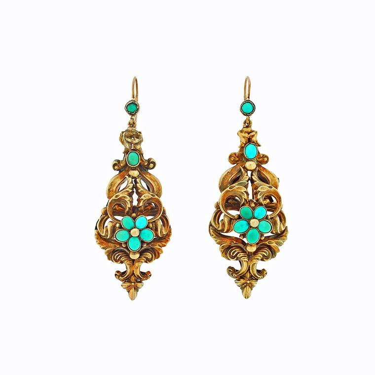 760x760 Antique Earrings Of The Past Return To Make A Bold Statement
