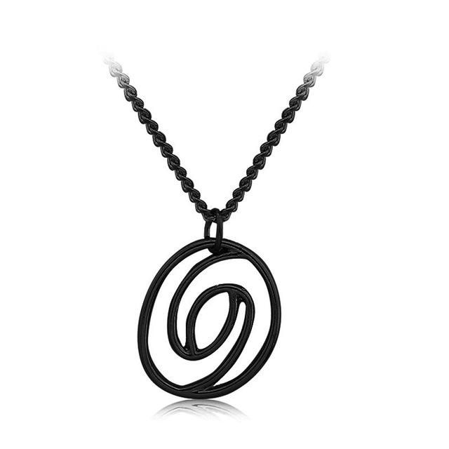 640x640 Eclipse Silhouette Necklace Chemical Molecule Pendant Necklace