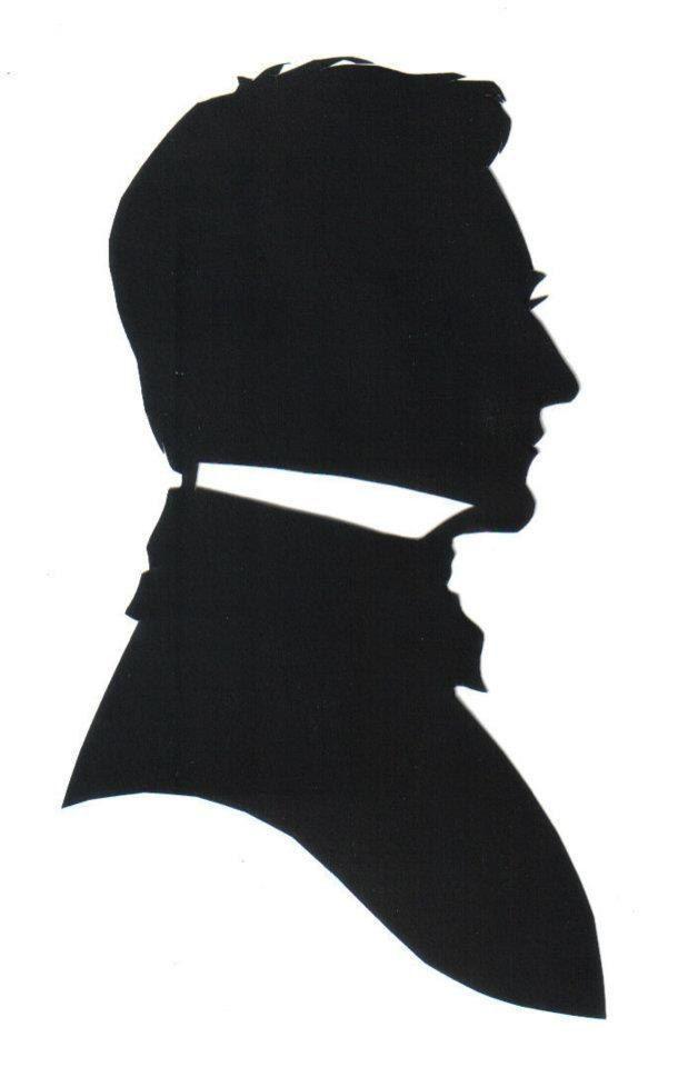 Victorian Silhouette Portrait