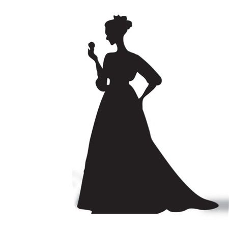 450x450 Gsilh1530 Victorian Lady Cut Out Silhouette 000.ashx