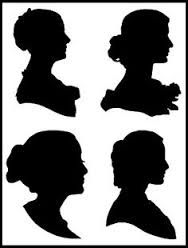 188x248 Image Result For Victorian Woman Silhouette Profile Felt