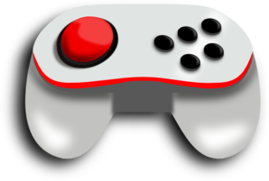 298x201 Video Game Controller Clip Art Free