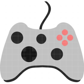 288x288 Vodeo Game Controller Clipart Collection