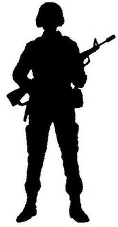 236x453 Silhouette Of A Soldier Kneeling Next To The Grave Of A Friend