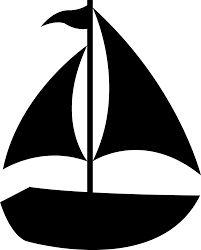 201x250 Clipart Nautical Silhouettes Amp Clip Art Nautical Silhouettes