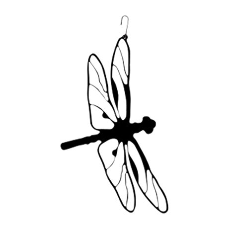463x463 Village Wrought Iron HOS 71 Dragonfly Silhouette