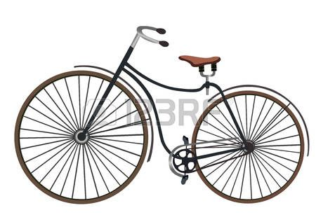 450x320 69 Best Retro Old Cyclists On Old Bicycles Vector Cartoon Flat
