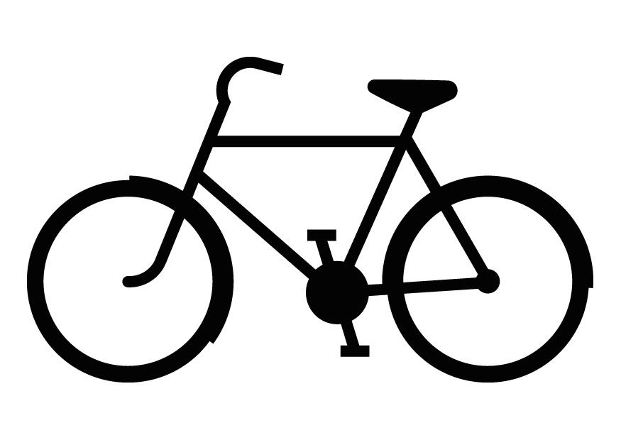 875x620 Bike Coloring Pages Templates Cricut, Stenciling