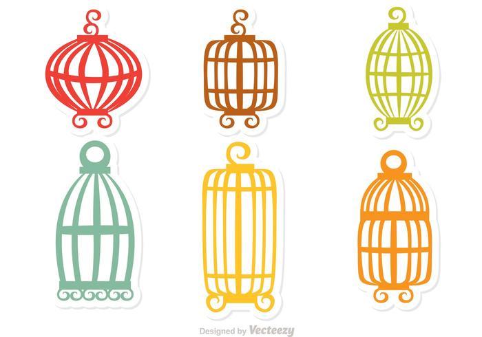 700x490 Vintage Bird Cage Free Vector Art