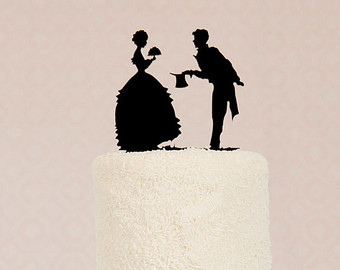 340x270 Download Silhouette Wedding Cake Topper Food Photos