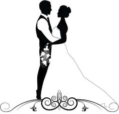 236x226 A Black And White Bride And Groom. Click Below For More Marriage