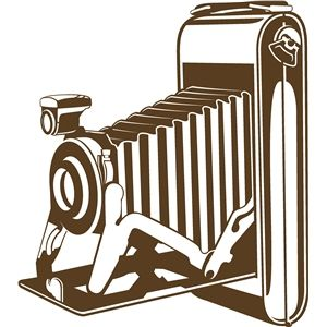 300x300 Vintage Camera Vintage Cameras, Silhouette Design And Silhouettes