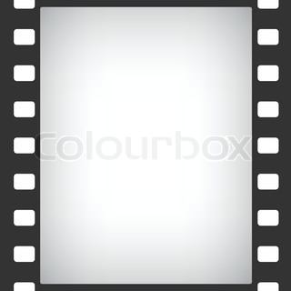 320x320 Vintage Orange Background With The Silhouette Of Movie Camera