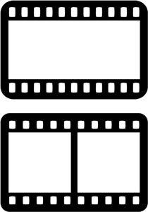 210x300 Clapboard Film Camera And Scrapbook