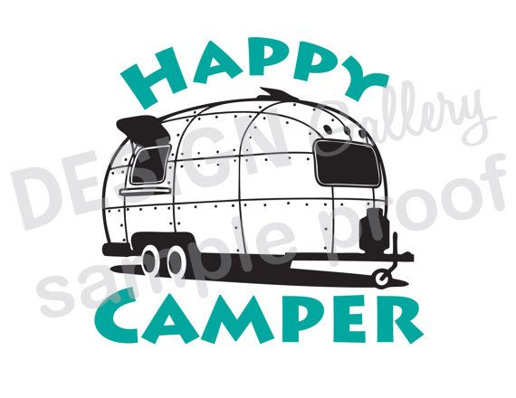 570x440 Happy Camper Airstream Trailer