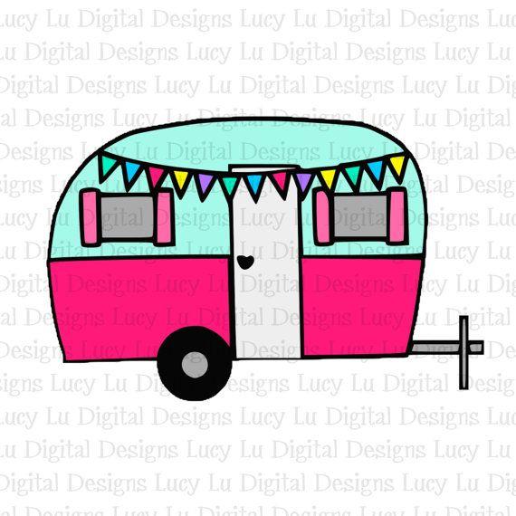 570x570 Vintage Camper, Digital Cut Files Handmade Items, Christmas