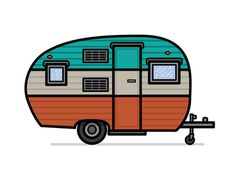 Vintage Camper Silhouette At Getdrawings Com Free For Personal Use Rh Clipart