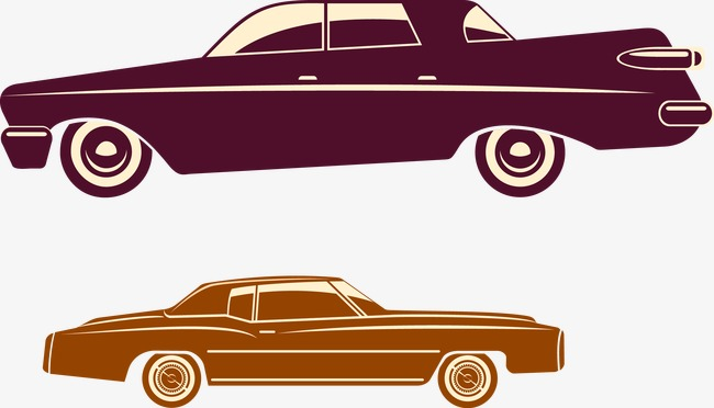 650x372 Vintage Car Silhouette, Classic Cars, Car, Retro Png And Vector