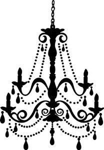 Vintage chandelier silhouette at getdrawings free for personal 208x300 freebies week chandelier silhouettes chandeliers silhouettes mozeypictures Choice Image