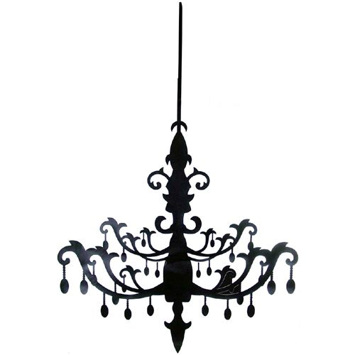500x500 Silhouettes Silhouette, Chandeliers And Stenciling