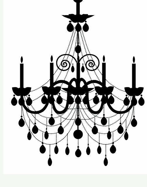 Vintage chandelier silhouette at getdrawings free for personal 503x640 9 best silhouette images on pinterest kitty cats printables and mozeypictures Choice Image