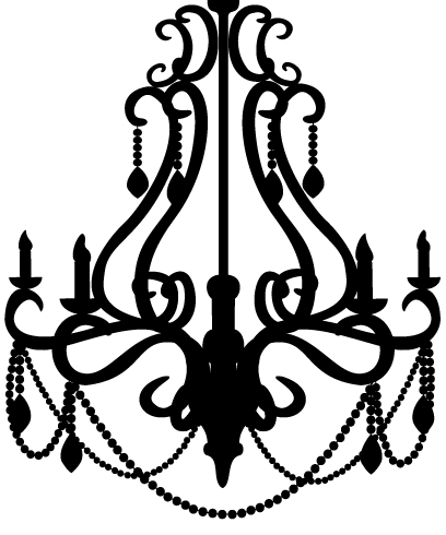 Vintage chandelier silhouette at getdrawings free for personal 408x490 chandelier 2 by little spitfire d4pd4vfg 408490 chandelier aloadofball Gallery