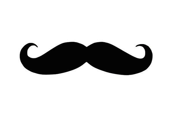 596x406 Moustache, Fashion, Outline, Beauty, Face, Expression, Silhouette