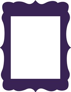 231x300 Silhouette Picture Frame Clipart