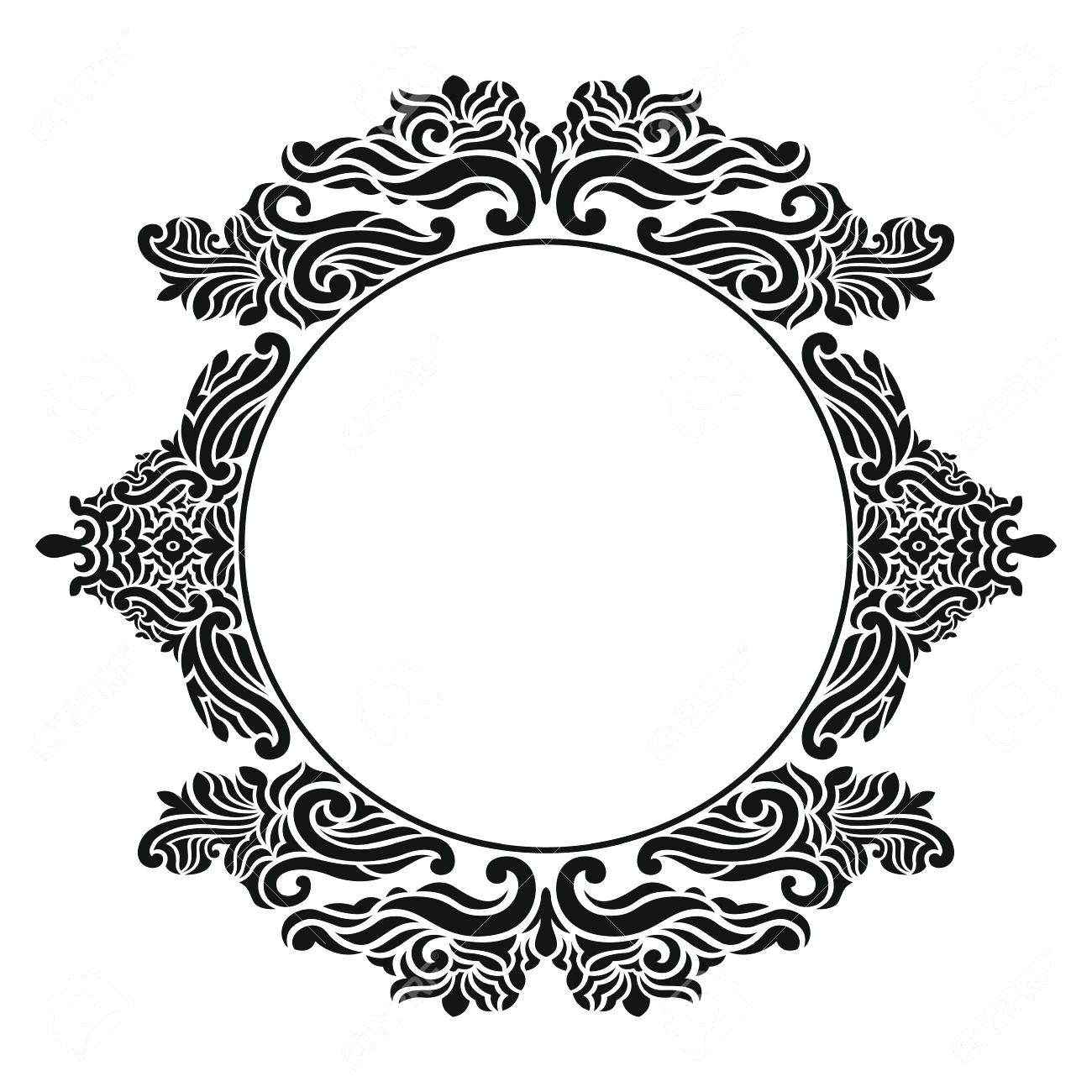 Vintage Frame Silhouette at GetDrawings.com | Free for personal use ...