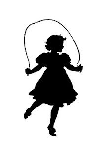 221x320 Jumprope Girl Silhouette Nora's Board Girl