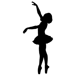 300x300 Vintage Ballerina Silhouette Clipart, Cliparts Of Vintage