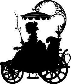 236x277 Baroque Silhouette Scherenschnitte Amp Silhouette Art