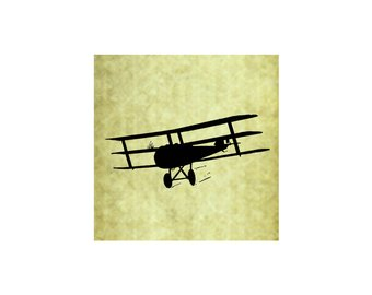 340x270 Airplane Silhouette Etsy