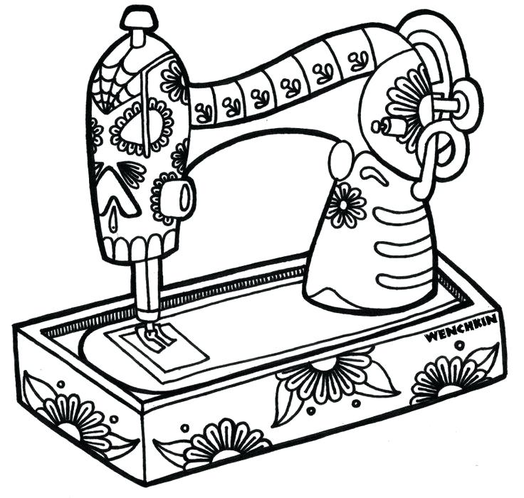 736x700 Sewing Machine Clipart Pin Sewing Machine Silhouette Sewing