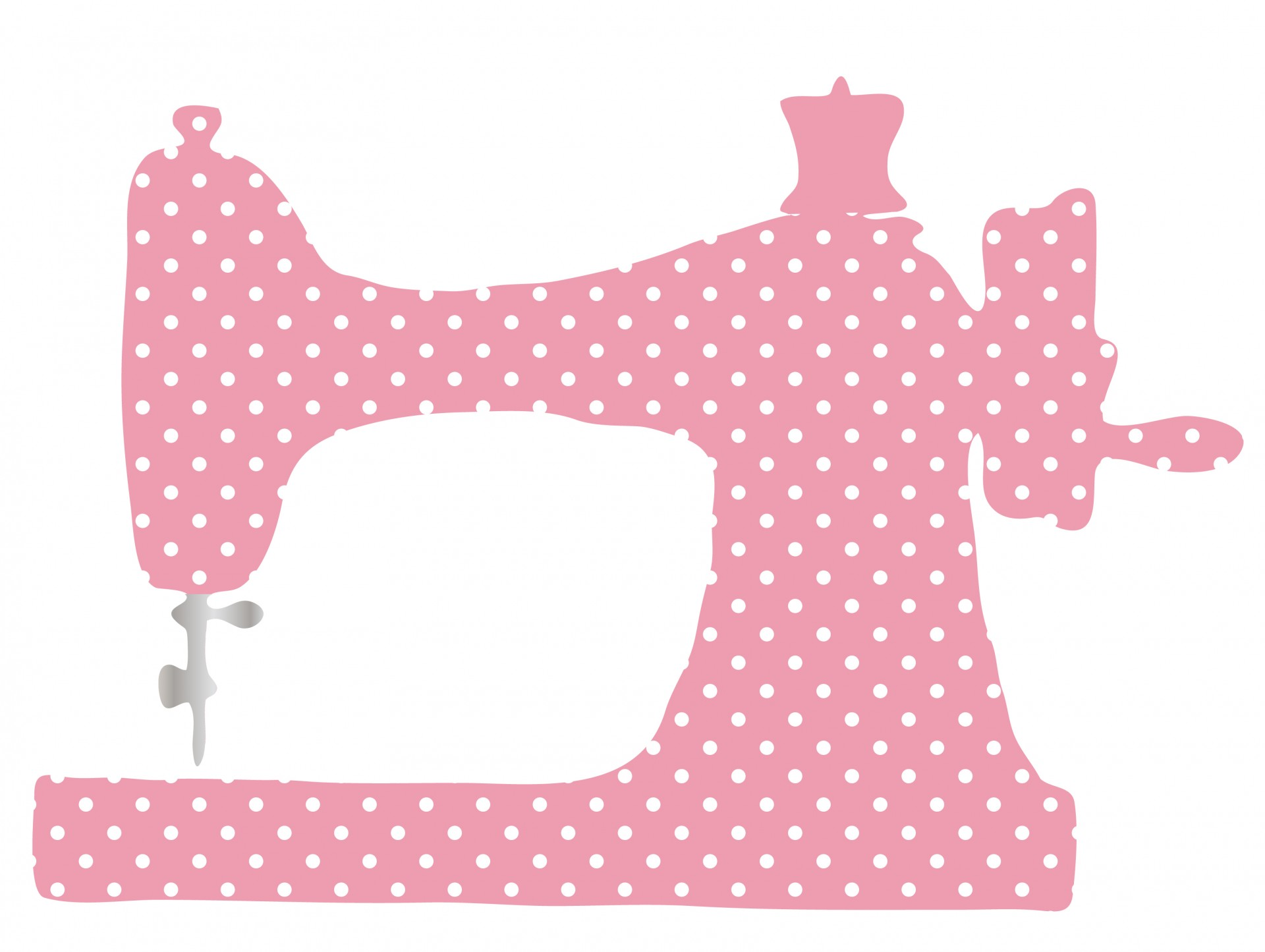 1920x1445 Vintage Sewing Machine Clipart Free Stock Photo