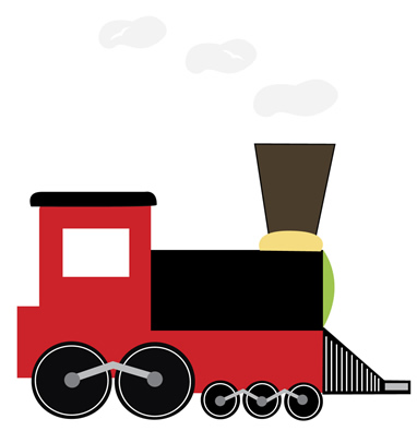 382x395 Railways Clipart Railway Engine