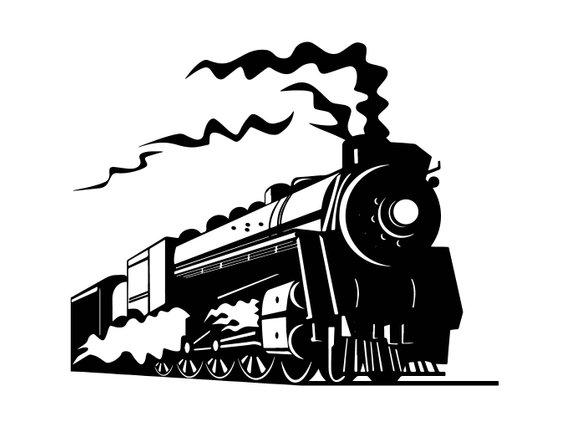 570x429 Steam Engine 4 Train Locomotive Vintage Railroad Track