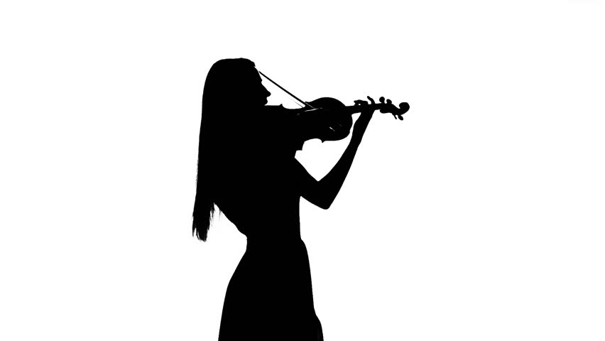 Violinist Silhouette at GetDrawings com | Free for personal