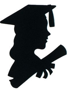 236x312 Girl Graduate Silhouette Get Your Girl Graduate Silhouette 12in