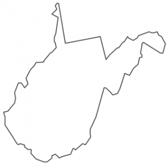 333x327 Virginia State Outlines Clipart Cliparthut Free Clipart Virginia