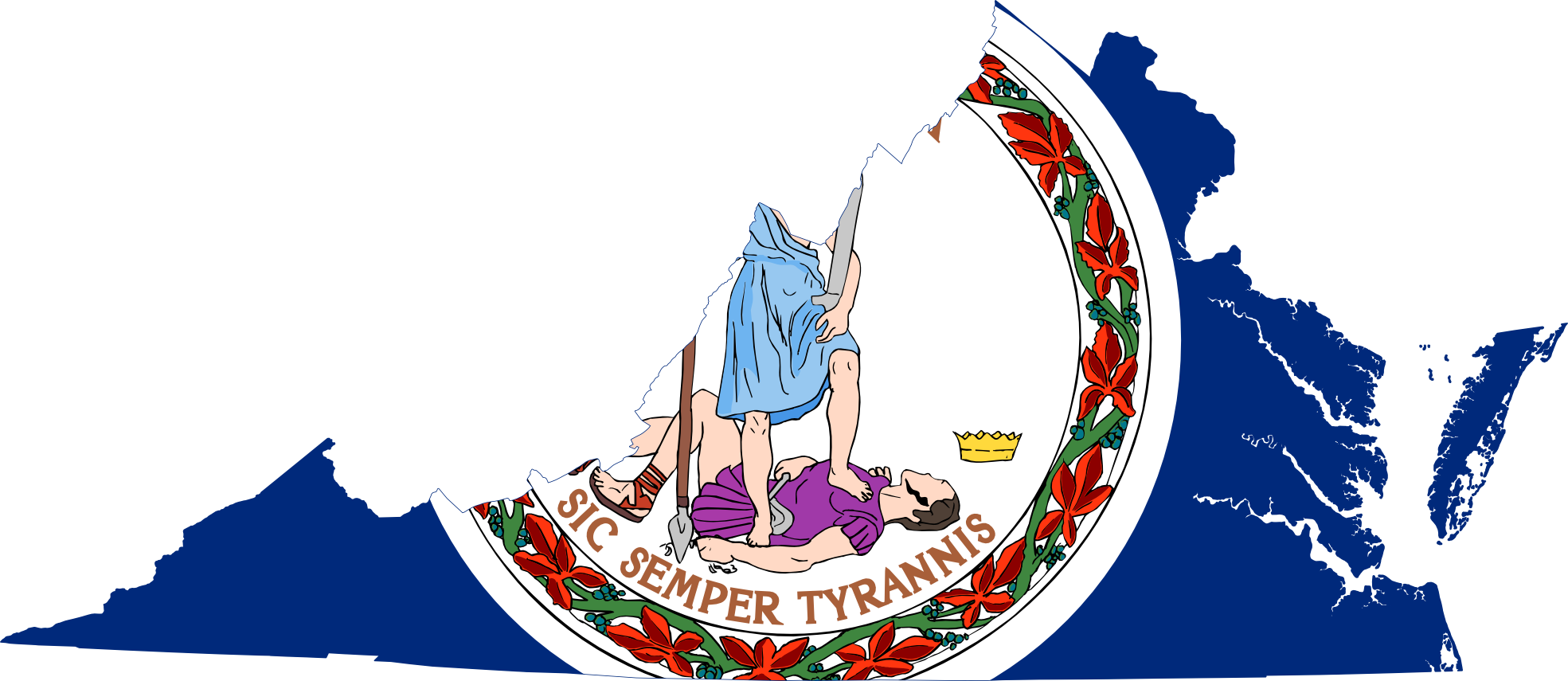 1969x855 Clipart Of Virginia State Outlines Cliparthut Free Lemonize