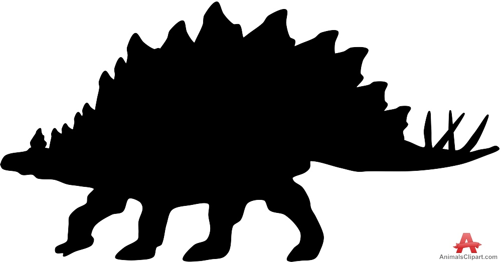 999x523 List Of Synonyms And Antonyms Of The Word Stegosaurus Silhouette