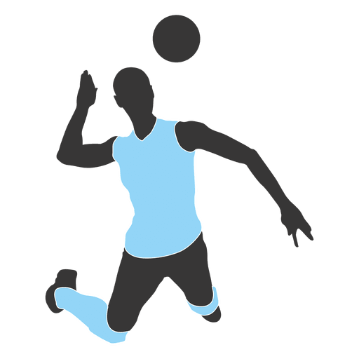 512x512 Male Female Volleyball Player Pack Silhouette