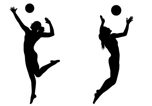 volleyball player silhouette at getdrawings com free for personal rh getdrawings com volleyball player setting clipart volleyball player silhouette clipart