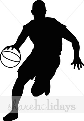271x388 Basketball Clipart Silhouette Amp Basketball Clip Art Silhouette